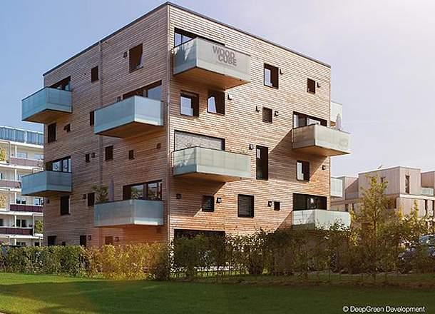 """Apartmanska kuća """"Woodcube"""" u Hamburgu"""